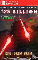 Diablo 3 - Nintendo Switch - Fully Modded PRIMAL - Seeker of Light - 123 Billion