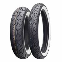 Maxxis M6011 Classic Bobber Racer 100/90/19 62H Whitewall Front Motorcycle Tyre