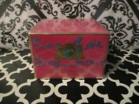 JUICY COUTURE ~ PEACE LOVE & JUICY COUTURE BODY CREME ~ 6.7 OZ BOXED