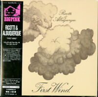 RICOTTI & ALBUQUERQUE-FIRST WIND-IMPORT MINI LP CD WITH JAPAN OBI Ltd/Ed G09