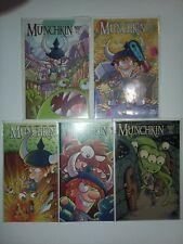 Munchkin #1 2 3 4 5 Boom! Box Studios 2015 Comic LOT Run 1-5