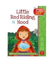 Little Red Riding Hood Phonic Readers. Level 3 (4-6 yrs) Children's Reading Gift