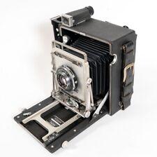 Crown Graphic 4x5 Press View Camera w/ Graflex Optar 135mm f/4.7Lens, Exc.++++