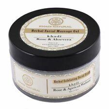 Khadi Natural Rose, Apricot & Walnut Exfoliating Facial Scrub 50 gm
