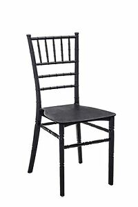Chair 665 11/16in 51x41x90H Packaging 4 Pieces, Black