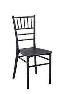Chair 1691 CM 51x41x90H Packaging 4 Pieces, Black