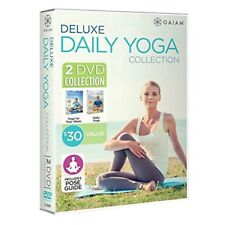 Deluxe Daily Yoga 2 Disc Collection New Sealed Fitness Workout Exercise Video