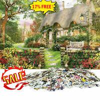 1000 Piece Jigsaw Puzzle England Cottage Landscapes Toys Educational Set -New