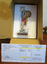 "Betty Boop, ""Singing in the Rain"" Collector Figurine, Nib by Danbury Mint"