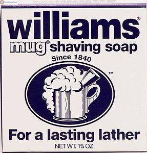 Williams Mug Shaving Soap - 1.75 oz: PACK OF 12