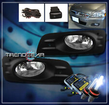 2006-2007 HONDA ACCORD SEDAN 4DR BUMPER CHROME FOG LIGHTS LAMP W/8000K XENON HID