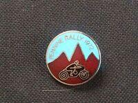 Vintage Enamel Pin Lapel Badge 1972 PENNINE RALLY Bikers Motor Cycle Motorcycle