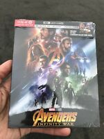Avengers Infinity War 4K UHD + Blu-Ray + Digital HD Target Exclusive New OOS