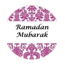 35 Ramadan Mubarak Stickers Muslim Islam Purple 636 Decorations Celebrations
