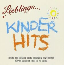 LIEBLINGS...KINDER HITS Lady Gaga,Katy Perry,Die Schlümpfe,Oliver Pocher CD NEW!
