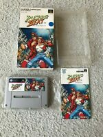 VG RUSHING BEAT SFC Super Famicom SNES NTSC-J JAPAN CIB Tested works