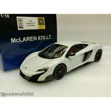 MCLAREN 675LT (SILICA WHITE) AUTOART MODEL 1/18 #76046
