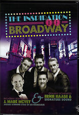 """ERNIE HAASE & SIGNATURE SOUND...""""THE INSPIRATION OF BROADWAY"""".....NEW SEALED DVD"""