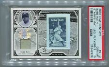 2005 LEAF CENTURY STAMP LEGENDARY PLAYERS #3 20¢ BABE RUTH 6/19 PSA 10 POP 1