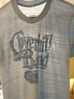 Vintage 70s Paper Thin Thrashed Cloverhill Band New Jersey Concert T Shirt