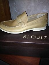 RJ Colt Radford Gingerroot Men's Boat Shoe-Size 10.5-NIB