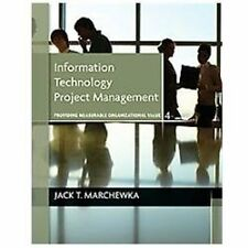 Information Technology Project Management, with CD-ROM, , Marchewka, Jack T., Ne