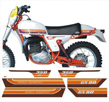Kit compl.adesivi KTM GS 80 350 1979 cristal - adesivi/adhesives/stickers/decal