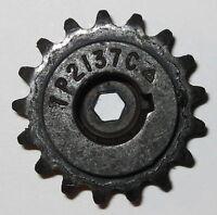 """#25 Chain Sprocket Gear - 1.5"""" OD - .5"""" ID for Round Shaft - 17 Teeth - Key Bore"""