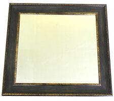 85 x 78 cm Wandspiegel Facettenschliff SPIEGEL Jumbo WOOW NEU Braun/Gold
