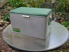 New ListingVintage Cronstrom's Pik-Nik Aluminum Cooler W/Padded Top 1950/60's