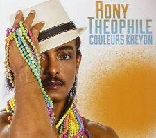 RONY THEOPHILE - COULEURS KREYON - 2014 - CD 9 TITRES - NEUF NEW NEU