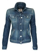 Bogner Jeans Damen Jeansjacke Sweatdenim, Size: XS / Dark Wash Denim