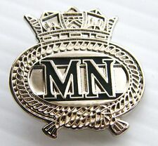 Merchant Navy Merchent Naval Military RN Lapel Pin Badge in Gift Pouch