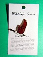 WILDLIFE SERIES CANADA GOOSE LAPEL HAT PIN (65)