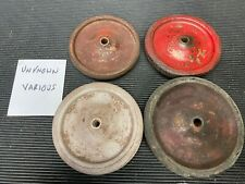 ORIGINAL UNKNOWN TIRES/WHEELS PRESSED STEEL TRUCKS