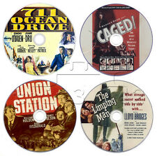 Film-Noir Movie DVD Collection: Union Station, Caged, 711 Ocean Drive, Limping..