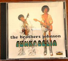 The Brothers Johnson Funkadelia CD Made in Australia 550 224-2