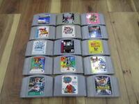 Nintendo 64 Lot of 15 piece Legend of Zelda Smash Bros. N64 Japan SK79