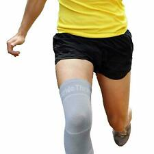 StrideThrive Supportive Knee Sleeve Breathable Volleyball Knee Support Large