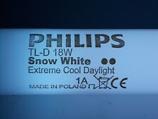 1 NeonRöhre PHILIPS TL-D 18W Snow White Extreme Cool DayLight 1A SnowWhite Röhre