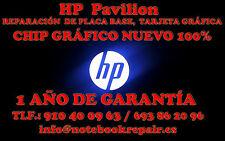HP  Pavilion  DV5 / DV6 / DV7 Series Reparación de placa base, tarjeta gráfica