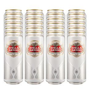 Stella Artois Lager 24 x 568ml pint cans
