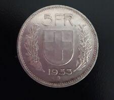 Moneta argento Svizzera del 1953