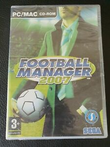 Football Manager FM 2007 PC Brand New Sealed