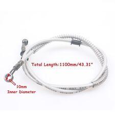 1100mm Oil Brake line Disk Brake Hose Tube 10mm Bolt Hole Hydraulic Pipeline
