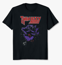 Thin Lizzy Black Rose Unisex T-shirt A Rock Legend Album Tee Size S-3Xl