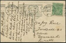 Jan.1924 usage of 1½d Green KGV on real photo PPC (Keppel Falls, Marysville)