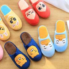 Women kakao friends Apeach Cartoon Anti-slip Plush Slipper Home Shoes 【in stock】