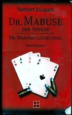 Jaques - DR. MABUSE - Der Spieler & Mabuses letztes Spiel  TB