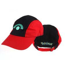 Adorable Pokemon Ash Ketchum Adjustable Baseball Cap Cosplay Hat Gift 05